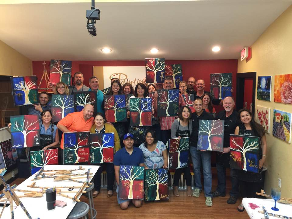 Social at Paint with a Twist