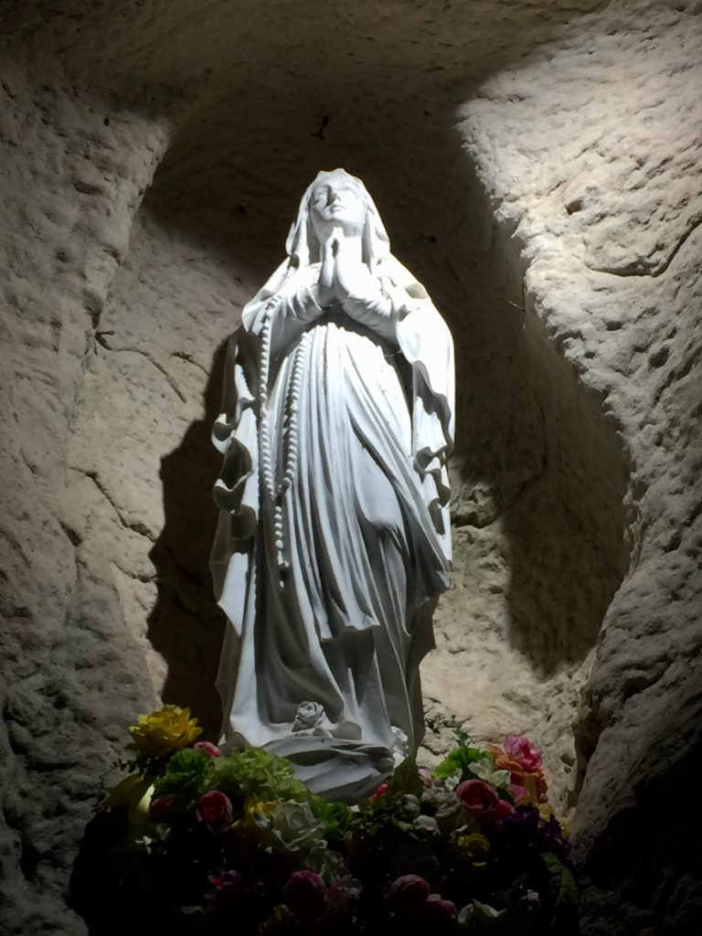 Mary at the Oblate Grotto